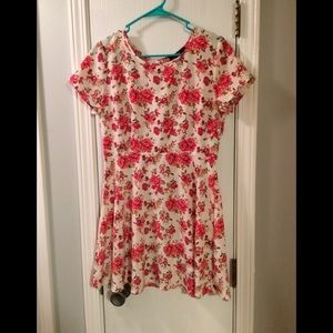 Pretty Floral Summer Dress
